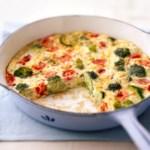 Tomato Broccoli Frittata