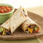 Beef and Black Bean Wraps
