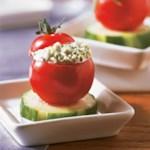 Herb-Stuffed Cherry Tomatoes