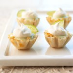 Key Lime Phyllo Tarts