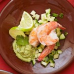 Shrimp and Cucumber Salad with Creamy Avocado Dressing