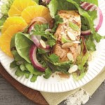 Salmon Salad with Orange-Balsamic Vinaigrette