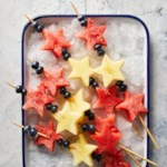 Star-Spangled Fruit Kebabs