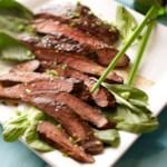 Korean Barbecued Flank Steak