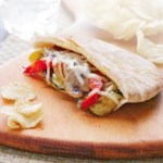 Roasted Veggie Pitas