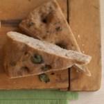 Lemon-Herb and Walnut Focaccia