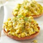 Hot Egg Salad Bagel