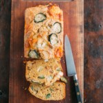Goat Cheese Zucchini Bread with Bacon