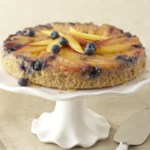Blueberry-Mango Upside-Down Cake