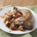 Chicken with Sourdough Stuffing