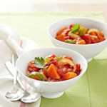 Tomato and Pepper Sweet Potatoes