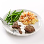Beef Medallions with Horseradish Sauce