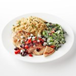 Chicken with Cherry-Pepper Sauce