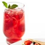 Mint-Berry Spritzer
