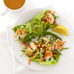 Thai Halibut Lettuce Wraps