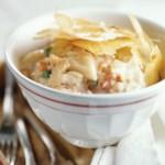 Phyllo-Crusted Crab Pie