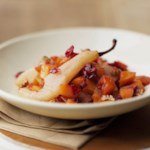 Squash with Pears & Cranberries