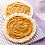Rice Thins with Sunflower Seed Butter