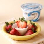 Greek Yogurt Strawberries