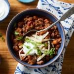 Pressure-Cooker Chili