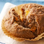 Spiced Bran Muffins with Dried Apricots