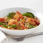 Asian Stir-Fry with Shrimp
