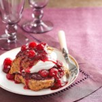 Cran-Raspberry Shortcakes