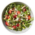 Strawberry-Balsamic Arugula Salad