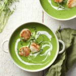 Coconut-Lime Pea Soup
