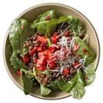Mediterranean Lentil & Kale Salad