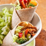 Asian Pork Wraps