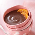 Dark Chocolate-Orange Pudding