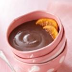 Dark Chocolate-Orange Pudding