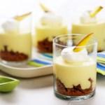 Frozen Mango-Ginger Cups