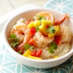 Lime-Marinated Shrimp with Grits