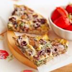 Mushroom-Olive Frittata