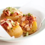 Southwest Chicken-Stuffed Potatoes