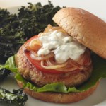 Blue Cheese Chicken Burger