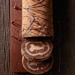 Chocolate Tiramisu Cake Roll