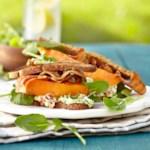 BLTs with Creamy Tomato-Avocado Spread