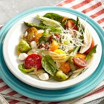 Tomato-Fennel Caprese Salad with Lemon-Shallot Vinaigrette