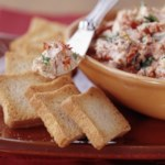 Tomato and Basil Chèvre Spread