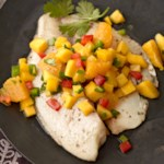Citrus Tilapia with Fruit Salsa