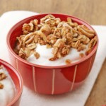Oat-Walnut Granola and Yogurt