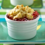 Peachy Berry Cobbler