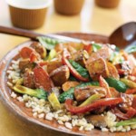 Chicken-Tofu Stir-Fry
