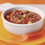 Chipotle Chili with Hominy & Beans