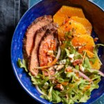 Smoky Steak Salad with Arugula & Oranges