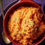 Sour Cream-Chive Mashed Carrots & Parsnips