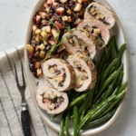 Stuffed Pork Loin with Wild Rice